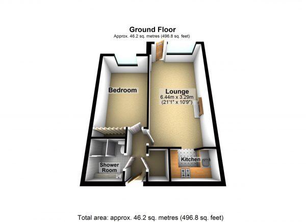 3 D Floor plan